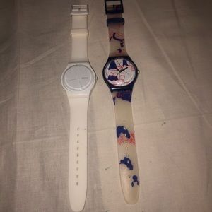 Ok SWATCH SWISS SR1130SW All White And See Thur